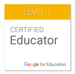 Google for education badge 1