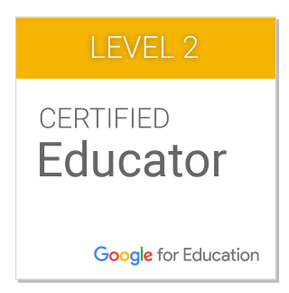 Google for education badge 2